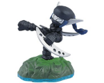 Dark Stealth Elf Figure - Skylanders Swap Force