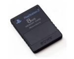 8MB Memory Card Black - Used - Playstation 2