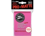 Ultra Pro Bright Pink Pro-Matte Protectors - 50 ..