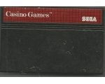Casino Games - Used - Sega Master System