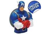 Marvel Captain America Money Bank