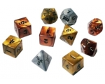 DICE SET - OLYMPIC POLYHEDRAL ASSORTED 10 DICE