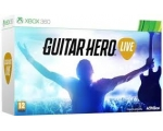 Guitar Hero Live with Guitar + USB Dongle - Used..