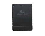 Unofficial 8MB Memory Card Black - Used - Playst..