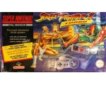 Super Nintendo SNES with Street Fighter II Turbo..