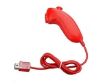 Unofficial Wii Nunchuk Pink - Red