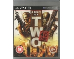 Army of Two the 40th - Used - Playstation 3