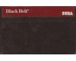 Black Belt - Used - Master System