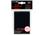 Ultra Pro Black Deck Protectors - 60 Sleeves per..