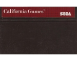 California Games - Used - Master System