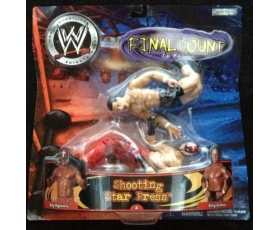 Rey Mysterio and Billy Kidman - Shooting Star Press - WWE Action Figure