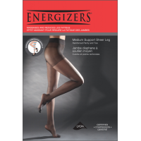 packaging for Energizers Medium Support Pantyhose