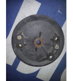 Husqvarna front twin leading shoe brake plate