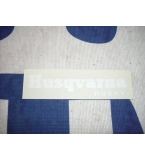 Husqvarna husky decal
