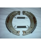 Husqvarna brake shoes front and rear