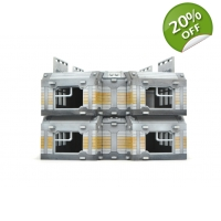 Block terrace 4-pack