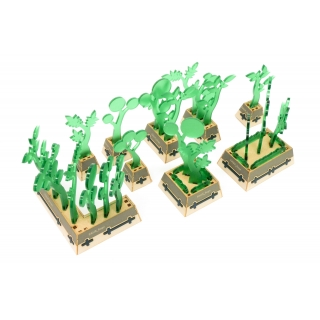 Fauxliage Planters with Holotrees