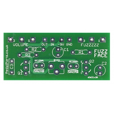 Fuzz Face - original version with board-mount pots