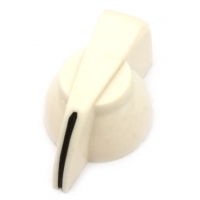 Chicken Head Knob - Cream Plastic