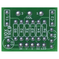 Vox Treble Boost PCB