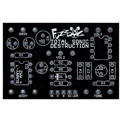 Sunny-T Extreme - Total Sonic Destruction PCB