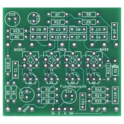 Green Citrus - Matamp-in-a-box PCB