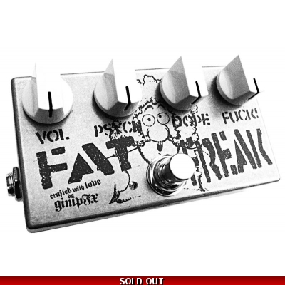 Fat Furry Freak - extreme bass fuzz