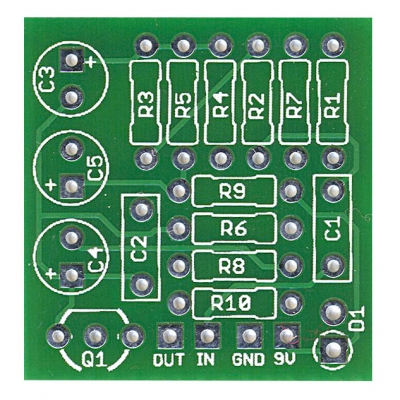 Cream Buffer Board-Mount PCB