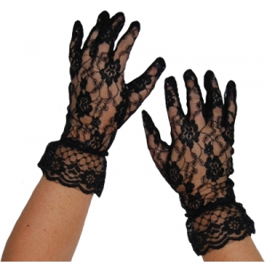 Sweida's Short Lace Gloves