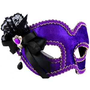 Purple Mask with Side R..