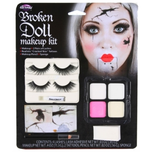 Doll Face Make Up Kit - Broken Doll