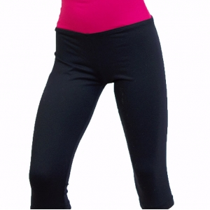 Essential Wide Band 3/4 Leggings