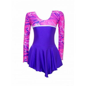 Skater Dress Pink/Purple S095b