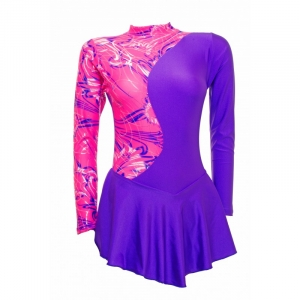 Skater Dress Pink/Purple S999