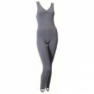 Becki Sleeveless Cotton Catsuit
