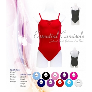 Essential Camisole Leotard with Low Back