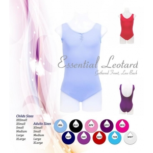 Essential Gathered Front Leotard with ..