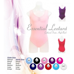 Essential Gathered Front Leotard