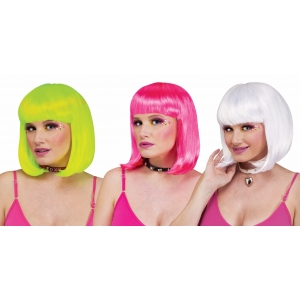 Black Light Rave Wigs