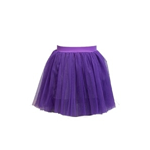 Mesh skirt with Satin bow and diamante detail.