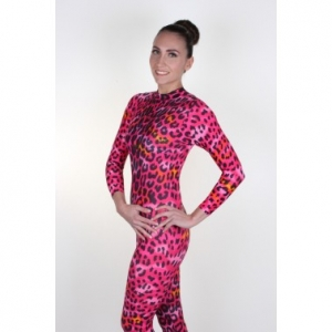 Elsa Red Physco Snowcat Catsuit