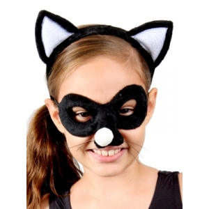 Cat Animal Mask and Headband