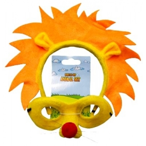 Lion Animal Mask and Headband