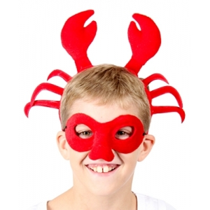 Crab Animal Mask and Headband