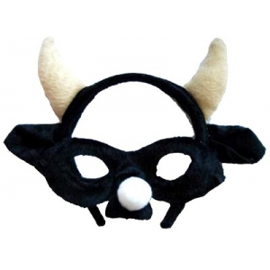 Bull Animal Mask and Headband