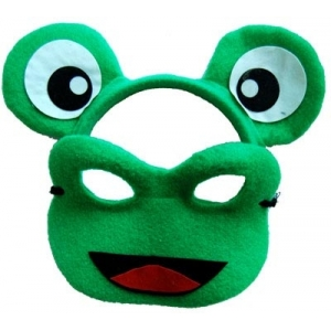 Frog Animal Mask and Headband