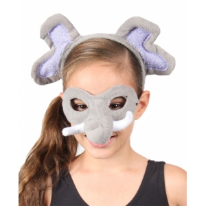 Elephant Animal Mask and Headband