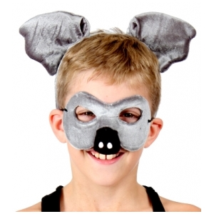 Koala Animal Mask and Headband