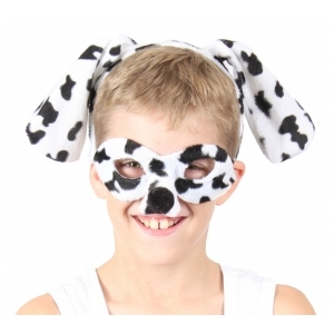 Dalmation Animal Mask and Headband