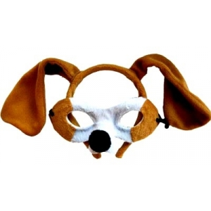 Dog Animal Mask and Headband